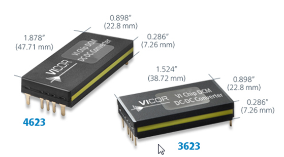 该系列产品采用全球领先的晶片封装技术, 600w功率长宽仅为46×2